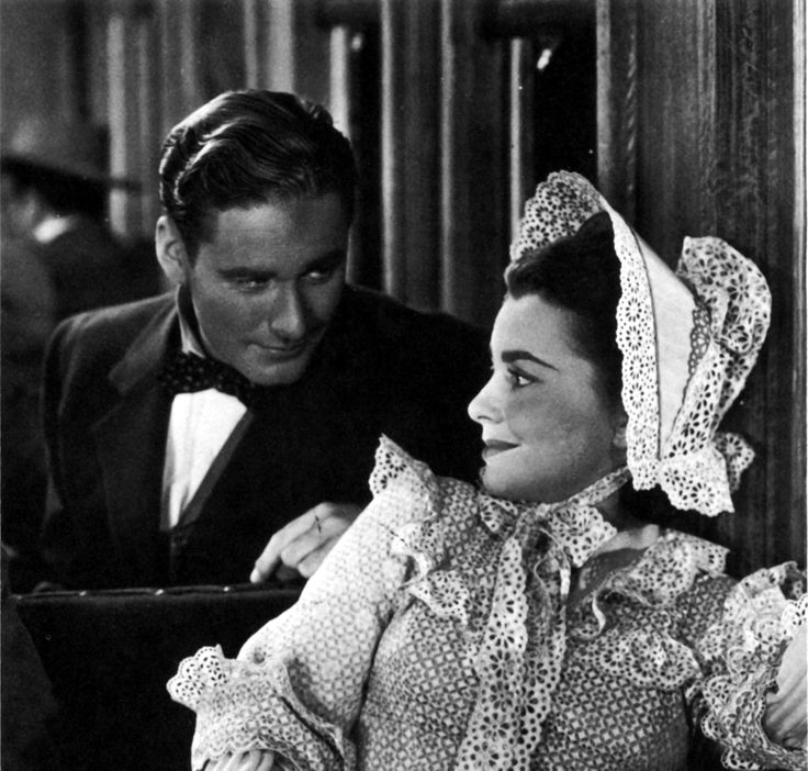 Errol Flynn & Olivia de Havilland - VIRGINIA CITY