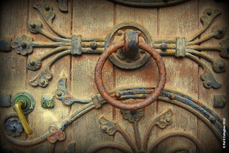 Door Ornament, St. Fin Bare's, Cork.