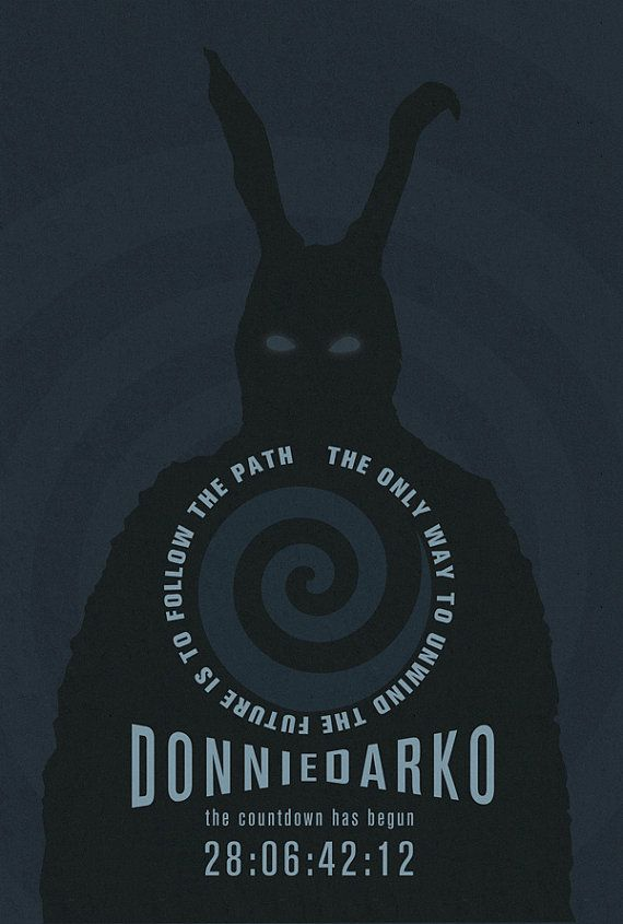 Donnie Darko 12x18 Movie Poster by greymatterprints on etsy $25.00