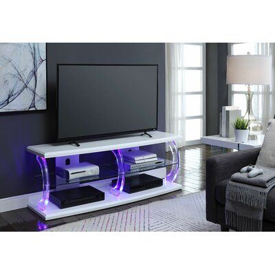 Orren Ellis Bolick LED TV Stand Color:  – Products