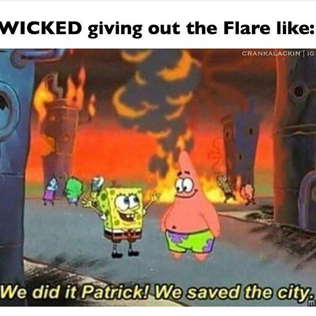 SCREW YOU WICKED. U DID NOT SAVE THE CITY. ALL U DID WAS KILL MAH BABIES.