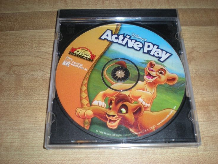 Disney's Active Play: The Lion King II Simba's Pride - PC CD Computer CD ROM