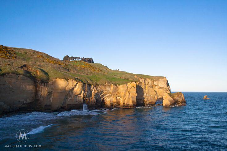 Tunnel Beach Dunedin - Matejalicious Travel and Adventure