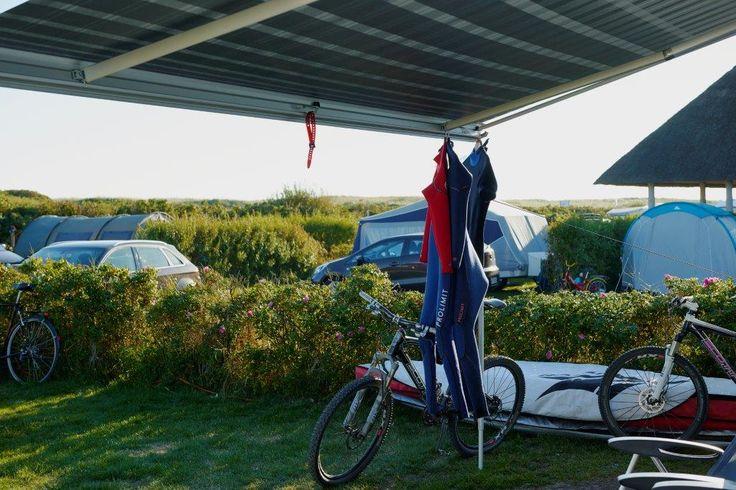 Camping på Hvidbjerg