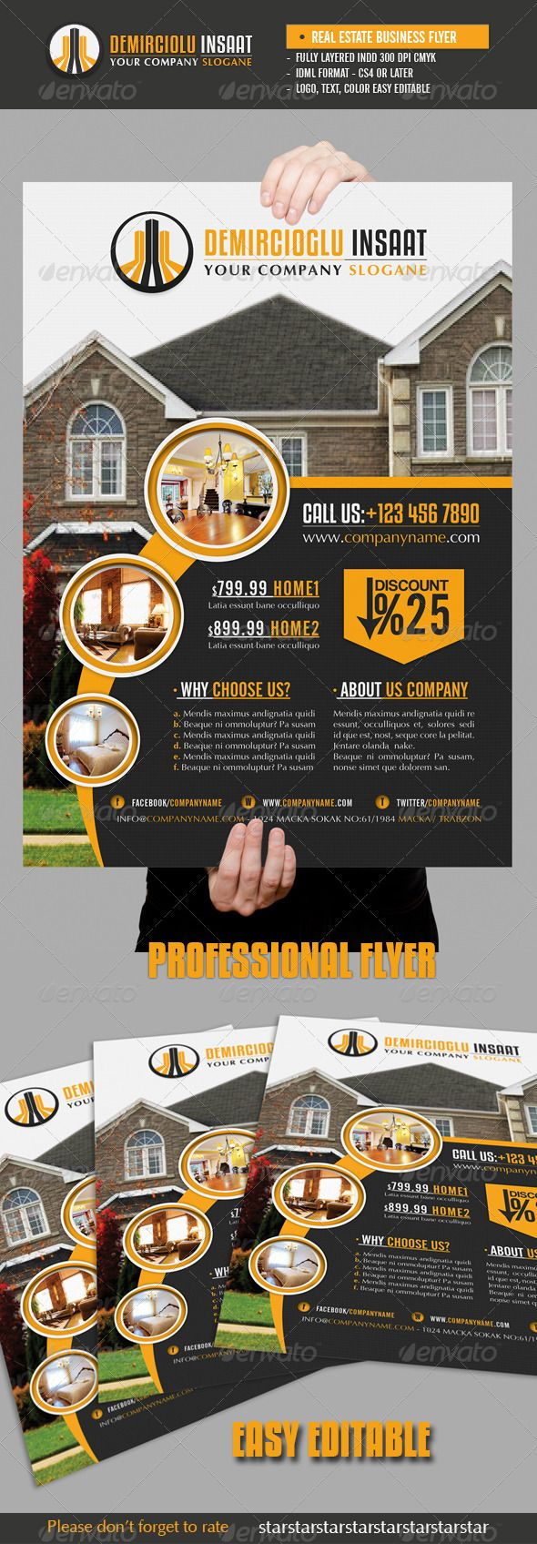 images about real estate marketing real estate business flyer vol2 graphicriver item for