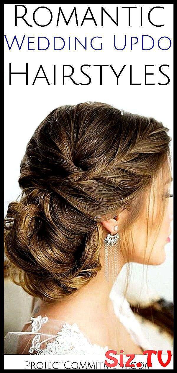 Romantic wedding updo hairstyle ideas for the brid #Bridal #bride #bridesmaids #classpintag #elegant
