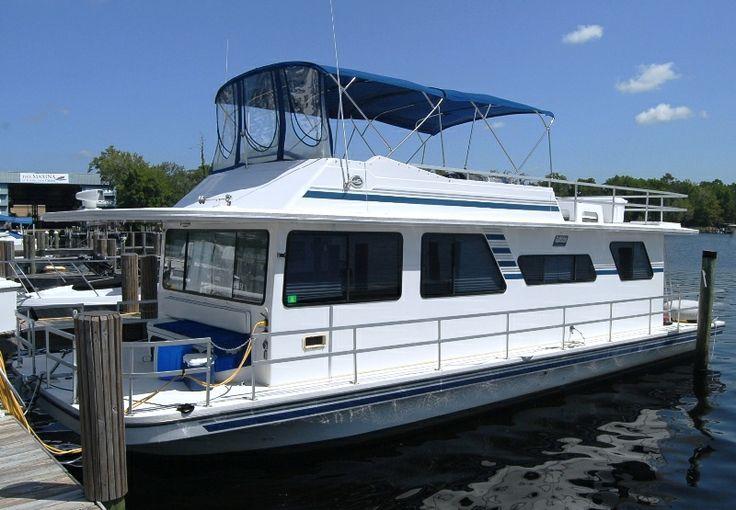 Gibson Executive Houseboats 1994 Gibson Houseboat 44