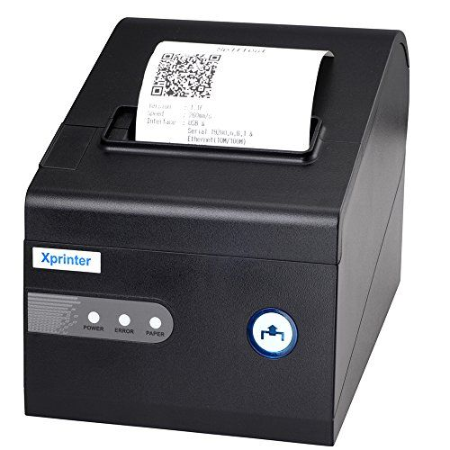Xprinter Thermal Kitchen/receipt 80mm Printer with Ethernet/lan Cachbox Interfaces