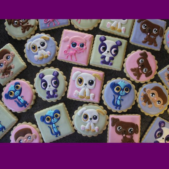 1 Dozen Little Pet Shop Cookies by SweetThingsCompany on Etsy, $28.00