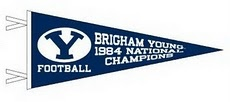 Will always love BYU football and remember the season tickets I would get each year.  GO COUGS!