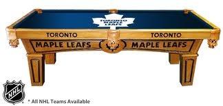 Toronto Maple Leafs Pool Table
