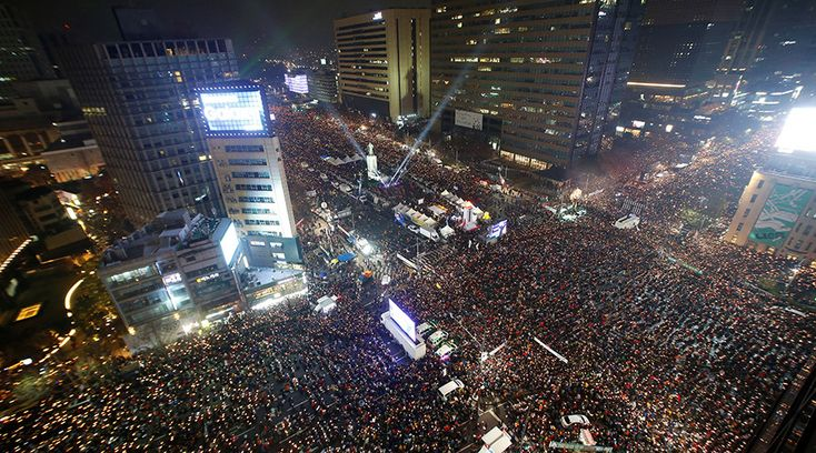This is probably the highest number of protestors ever demanding a leader to step down, in recent memory. An estimated 1.5 million hit the streets in the capital of South Korea to demand the resign…