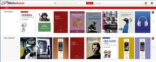 BiblioAutor, una biblioteca virtual para autores - post de Ana Ordás