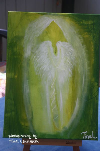 Painting- The healing energy lifting up with the spirit whorl <3