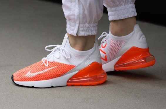 4fad173cc0c42 Nike WMNS Air Max 270 Flyknit Crimson Pulse Perfect For Summer The Nike  WMNS Air Max