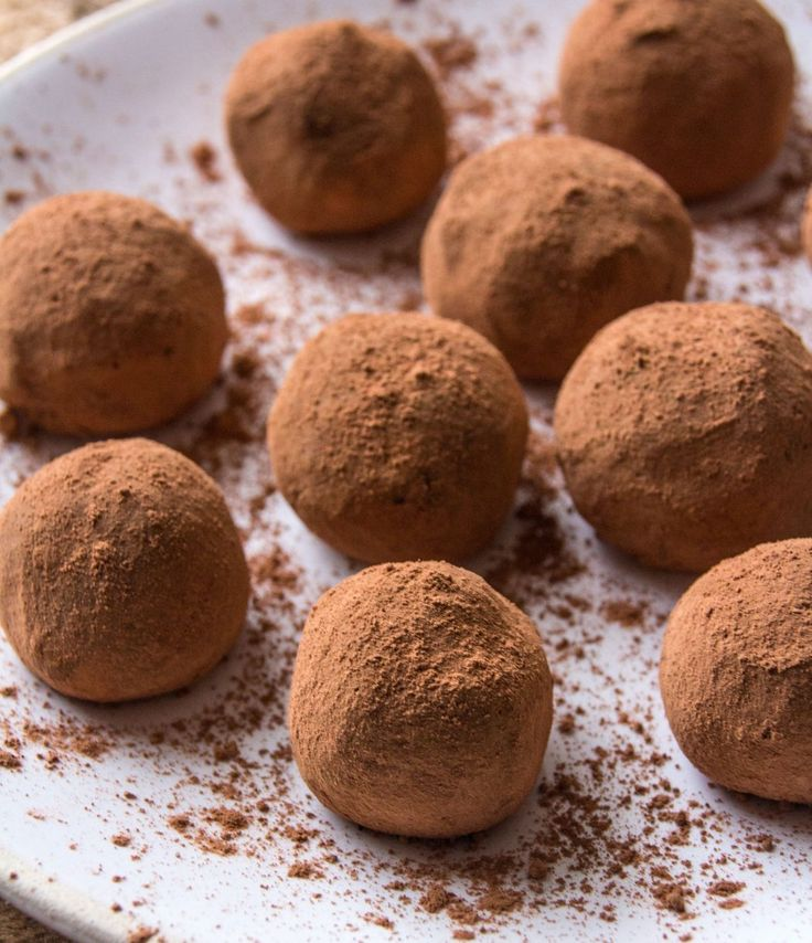 Chocolate Orange Truffles | Deliciously Ella