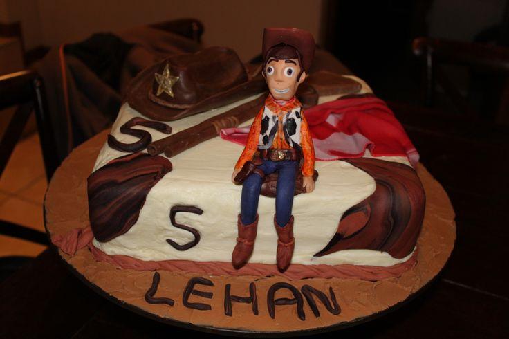 Woody birthday cake