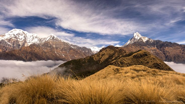 45 Breathtaking Views from the World's Greatest Hiking Circuits Jomolhari, Bhutan