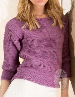 (1) Вяжем Пуловер