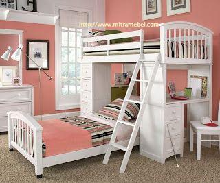 Home Jepara | Jepara Furniture Store | Mitra Mebel Furniture Jepara | Mebel Jepara: Dipan Tingkat Anak Minimalis Cat Duco | MITRA MEBE...