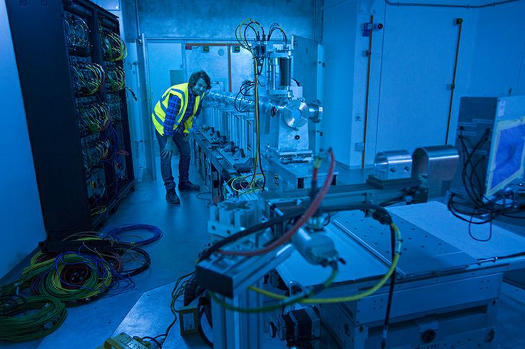 Interlock checking on Larmor prior to first neutrons. (Credit: STFC)