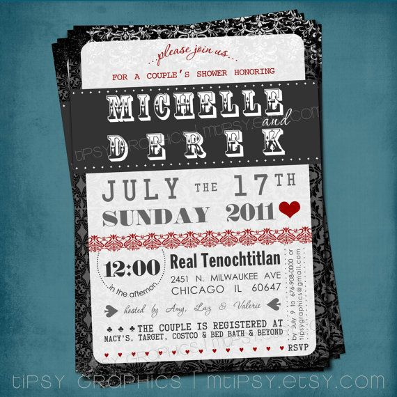 Top 35 best Invitation Ideas For Casino Nights images on Pinterest  PL68