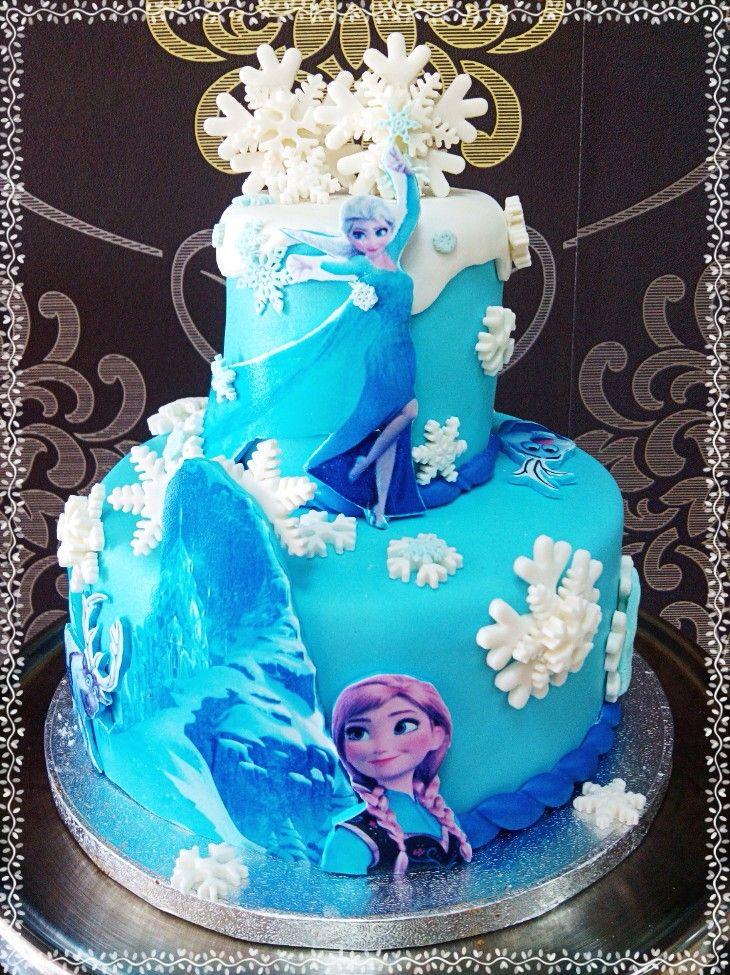Tarta Frozen Andrea