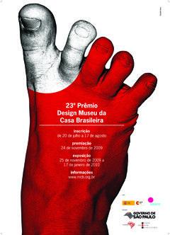 23 Prêmio Design MCB. Design by Line Kirk (photography), Ronaldo Alves dos Santos Filho.