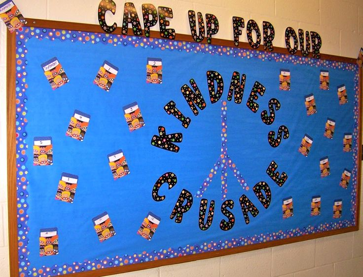 Our Kindness Crusade - interactive bulletin board