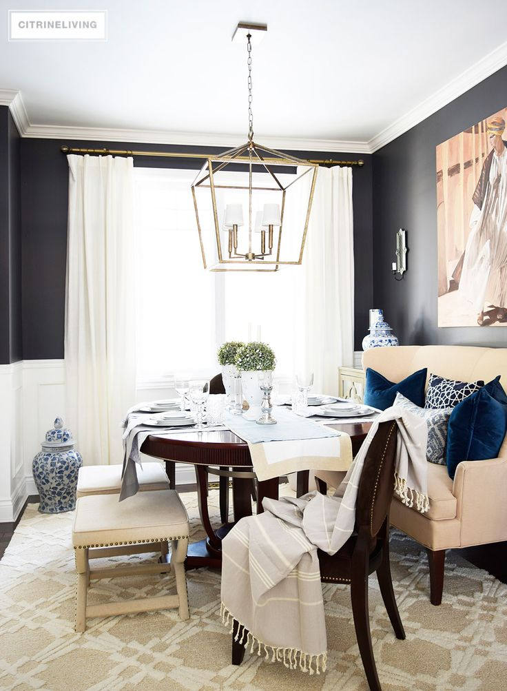 17 Best images about ~ Darling & Dramatic Dining Rooms ~ on ...