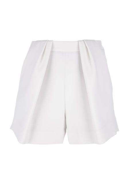 CHLOE Pleated shorts €458.55 #CHLOE #SHORTS #WOOL