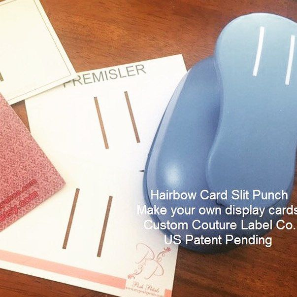 How awesome do these Hairbow Display Cards look?! Super easy to get the perfect slits cut with our new punch! Hurry to get yours in our preorder ending May 1st!