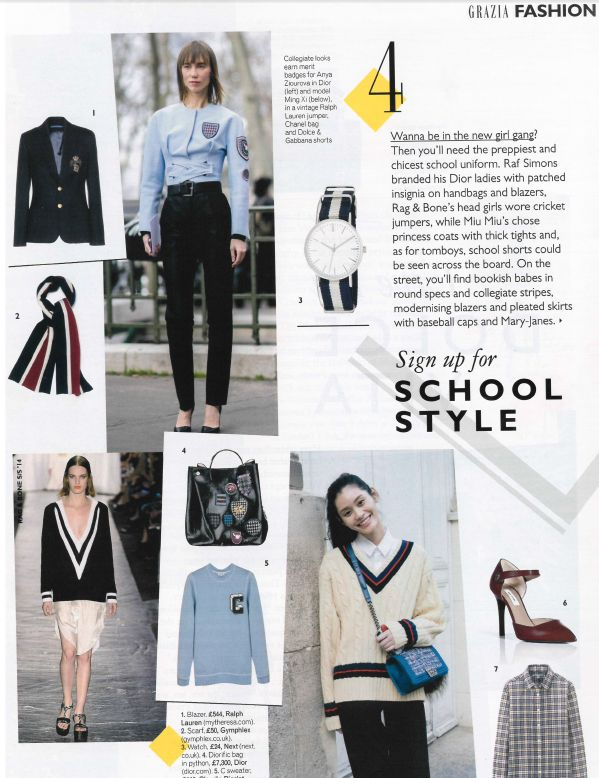 Wanna be in the new girl gang? Take a look at Gymphlex appearing in Grazia Magazine