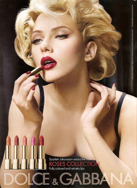 Scarlett Johansson - Dolce & Gabbana makeup by SerenityF, via Flickr