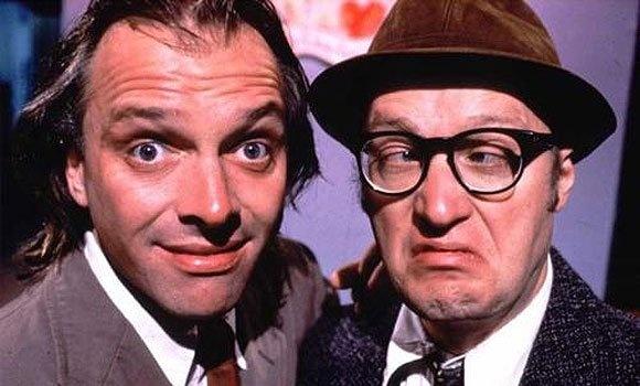 Bottom's Back! Rik Mayall and Ade Edmondson to reunite in Hooligan's Island on BBC2.