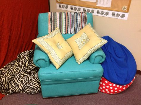 This teacher has great ideas on a how to decorate a high school classroom as well as engage the students.