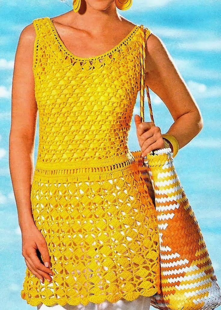 http://crochelinhasagulhas.blogspot.com.au/2014/02/vestido-amarelo-de-croche.html