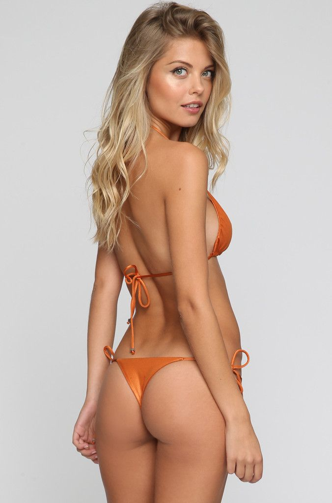Tom Bikini Top in Copper
