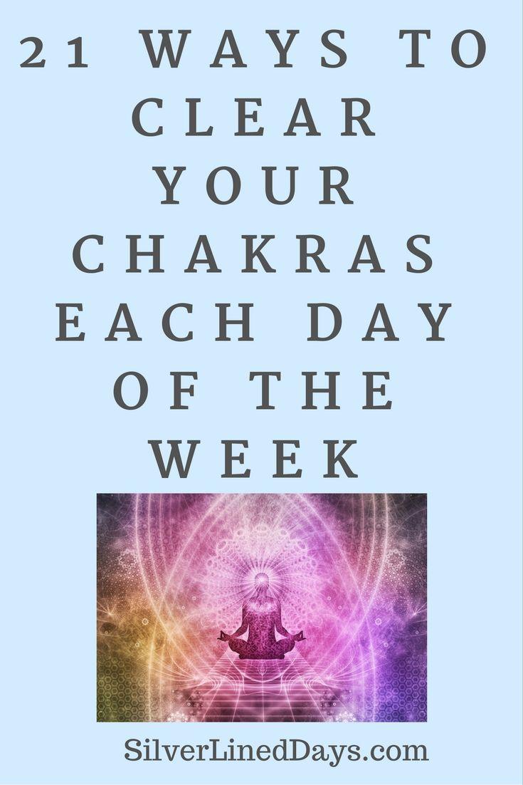 Feeling out of balance? Here are 21 simple ways to clear your chakras throughout the week. http://silverlineddays.com/3-easy-ways-balance-chakras/  reiki healing | reiki | how does reiki work | reiki benefits | chakras | holistic healing | lightworker | spirituality | manifestation | manifest | holistic health | alternative medicine | meditation | mindfulness | energy healing