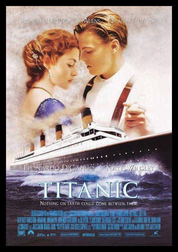 Titanic FRIDGE MAGNET 6x8 Leonardo Di Caprio Magnetic Movie Poster Canvas Print