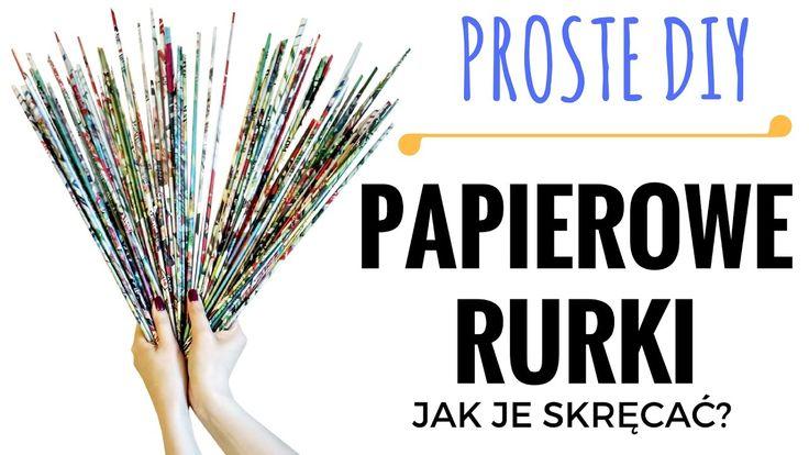 Jak skręcać rurki z wikliny papierowej? W tym prostym tutorialu DIY dowiecie się czym są tutki i jak zrobić je samemu! Wiklina papierowa to świetna rzecz dla...