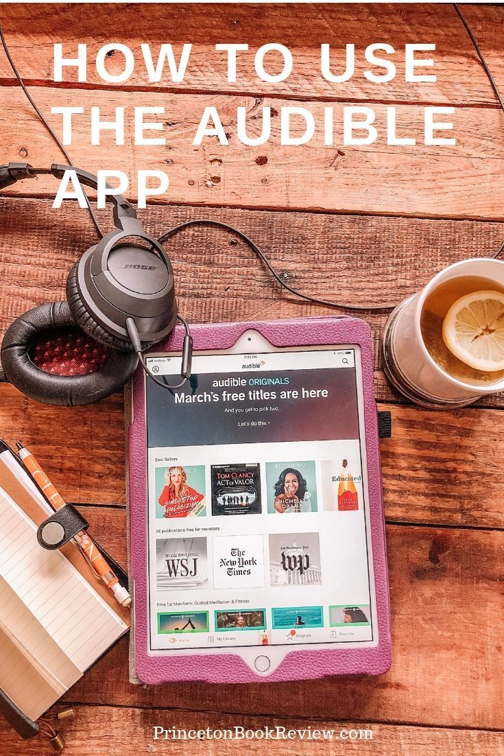How To Use The Audible App For the Best Listening Experience! | Book