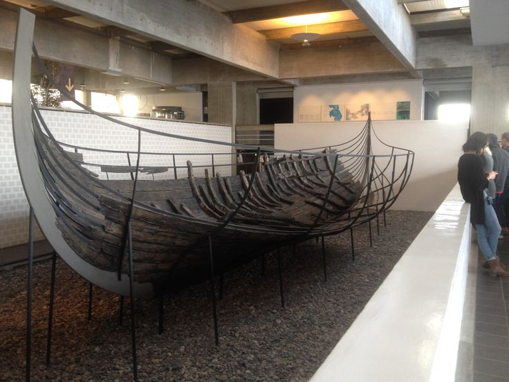 one of the ships found in Roskilde Fjord