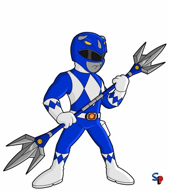 Mighty Morphin Power Rangers; Blue Ranger