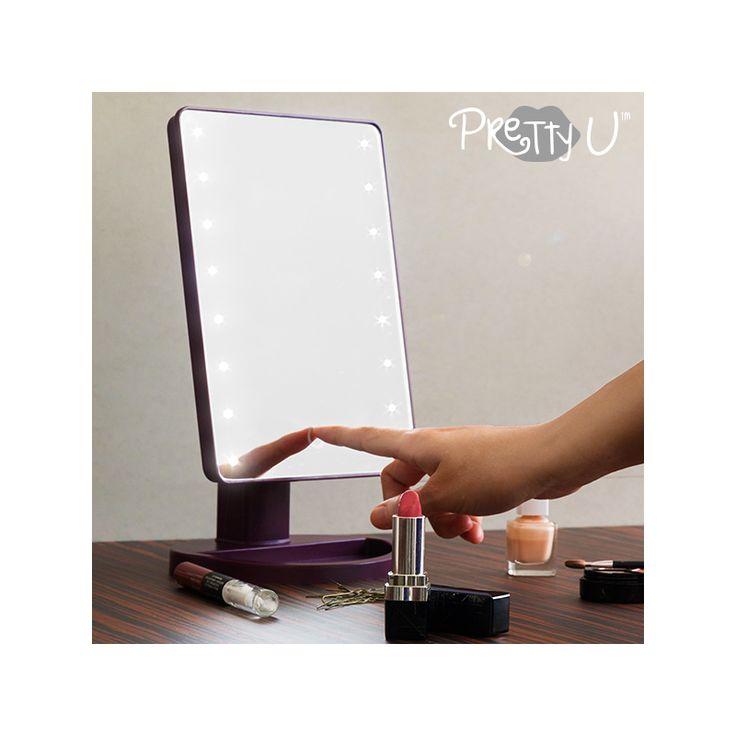 Espejo LED de Sobremesa Pretty U - 13,78 €   ¡Ya puedes arreglarte con todo el glamour de las grandes estrellascon la ayudadel espejo LED de sobremesa Pretty U!Ideal para maquillarse, peinarse, depilarse, etc.www.pretty-u.comFabricado en...  http://www.koala50.com/espejos/espejo-led-de-sobremesa-pretty-u