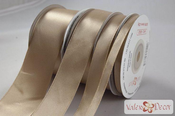 Szatén szalag 38mm x 25y - Arany - Valex Decor Kft. | Virágkötészeti kellékek és dekorációk webáruháza