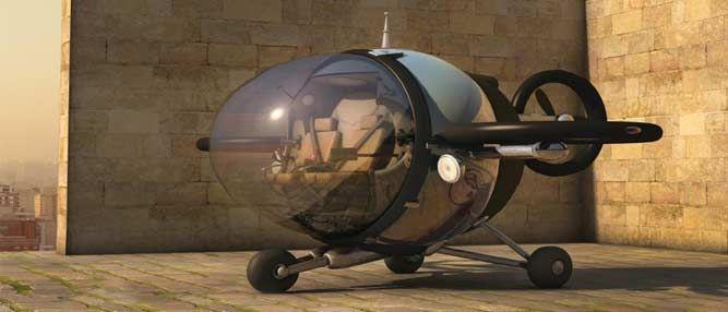 Mais um carro voador bizarro
