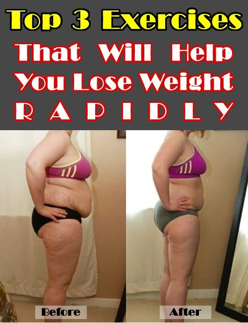 Top Three Exercises That Will Help You Lose Weight Rapidly