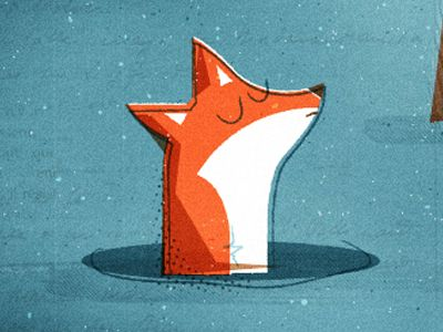 Scott Allen Hill illustration. Would totally match the woodland animal theme of Alex's roooom!
