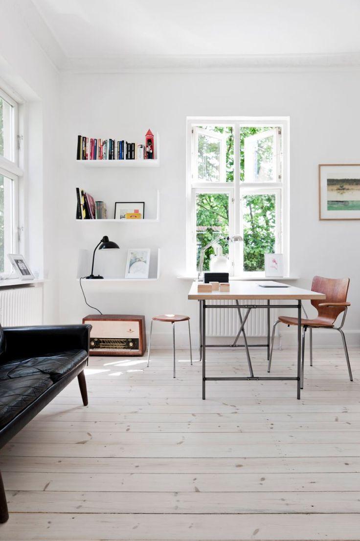 Workspace. House outside Copenhagen by Morten Holtum